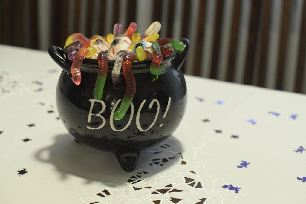 menu na halloween