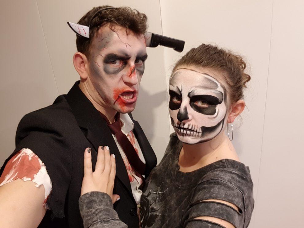 proste przebranie na halloween