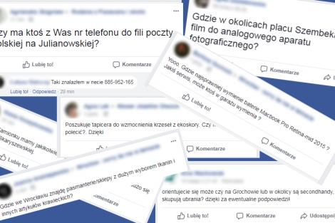 facebook obnaża nasze lenistwo