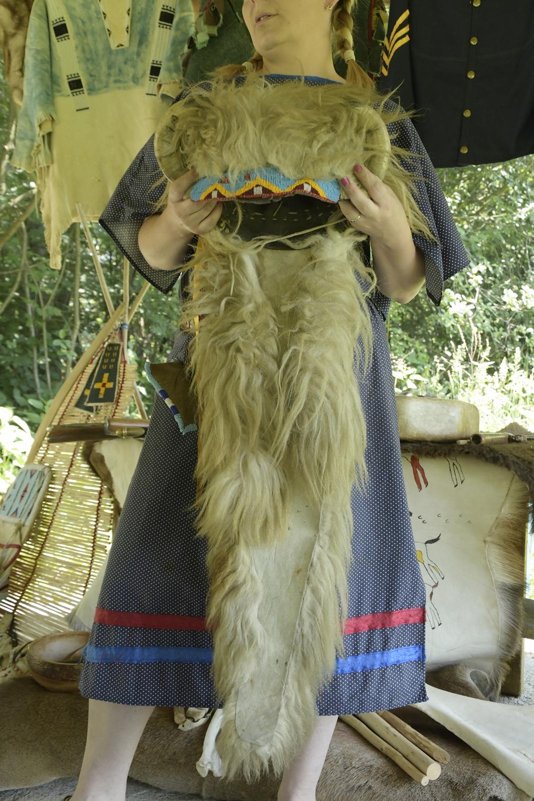 wioska indiańska w borzychach