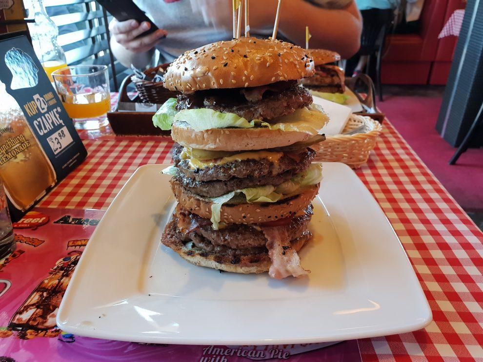 combo tower burger
