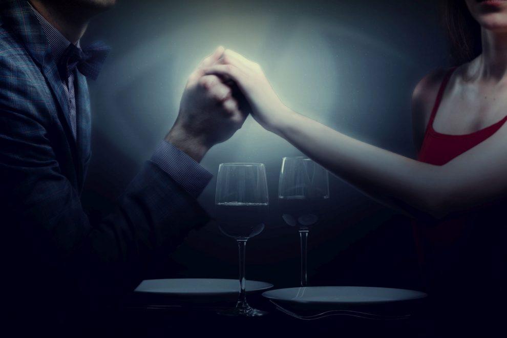 kolacja po ciemku