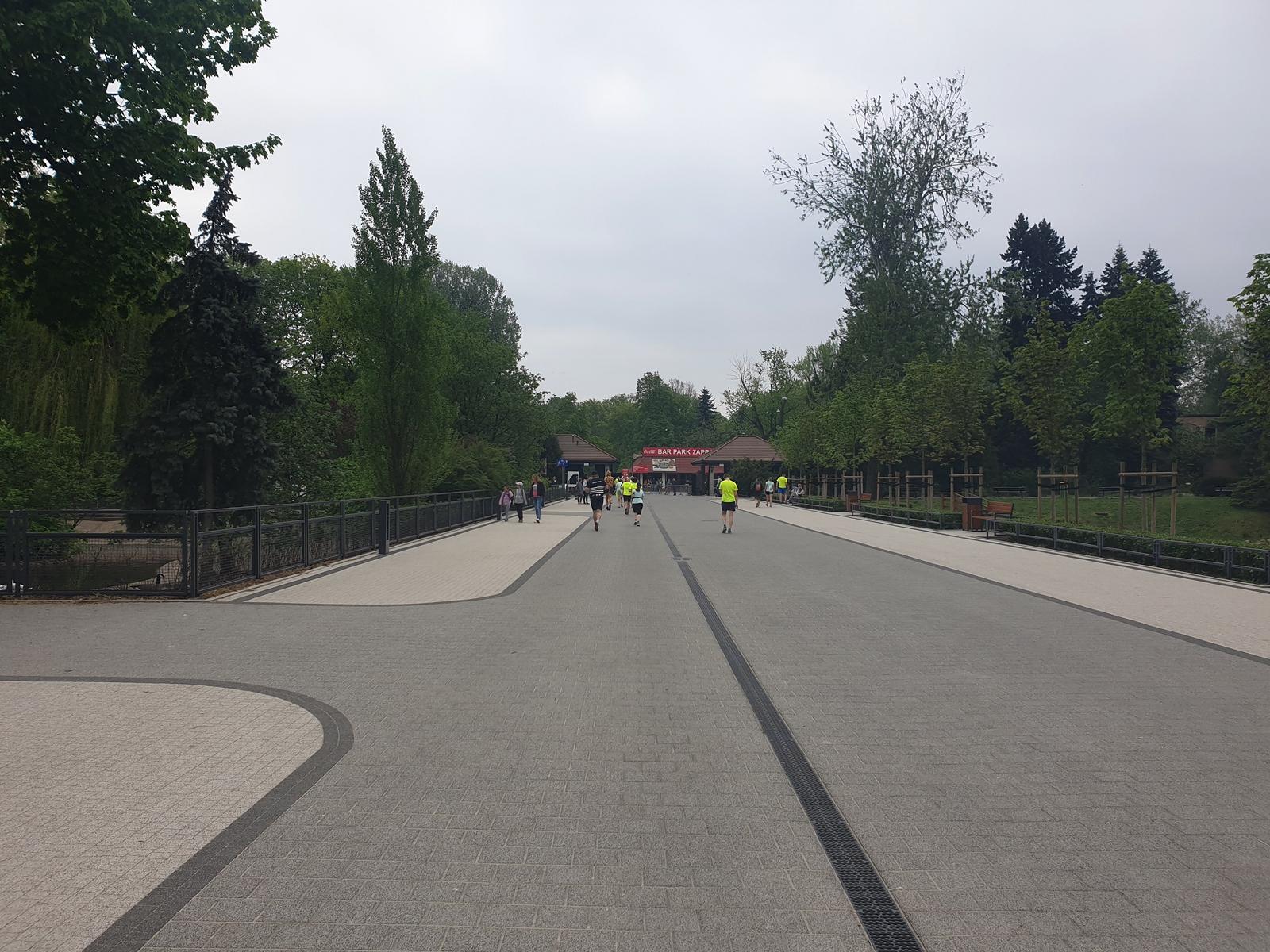 bieg dookoła zoo