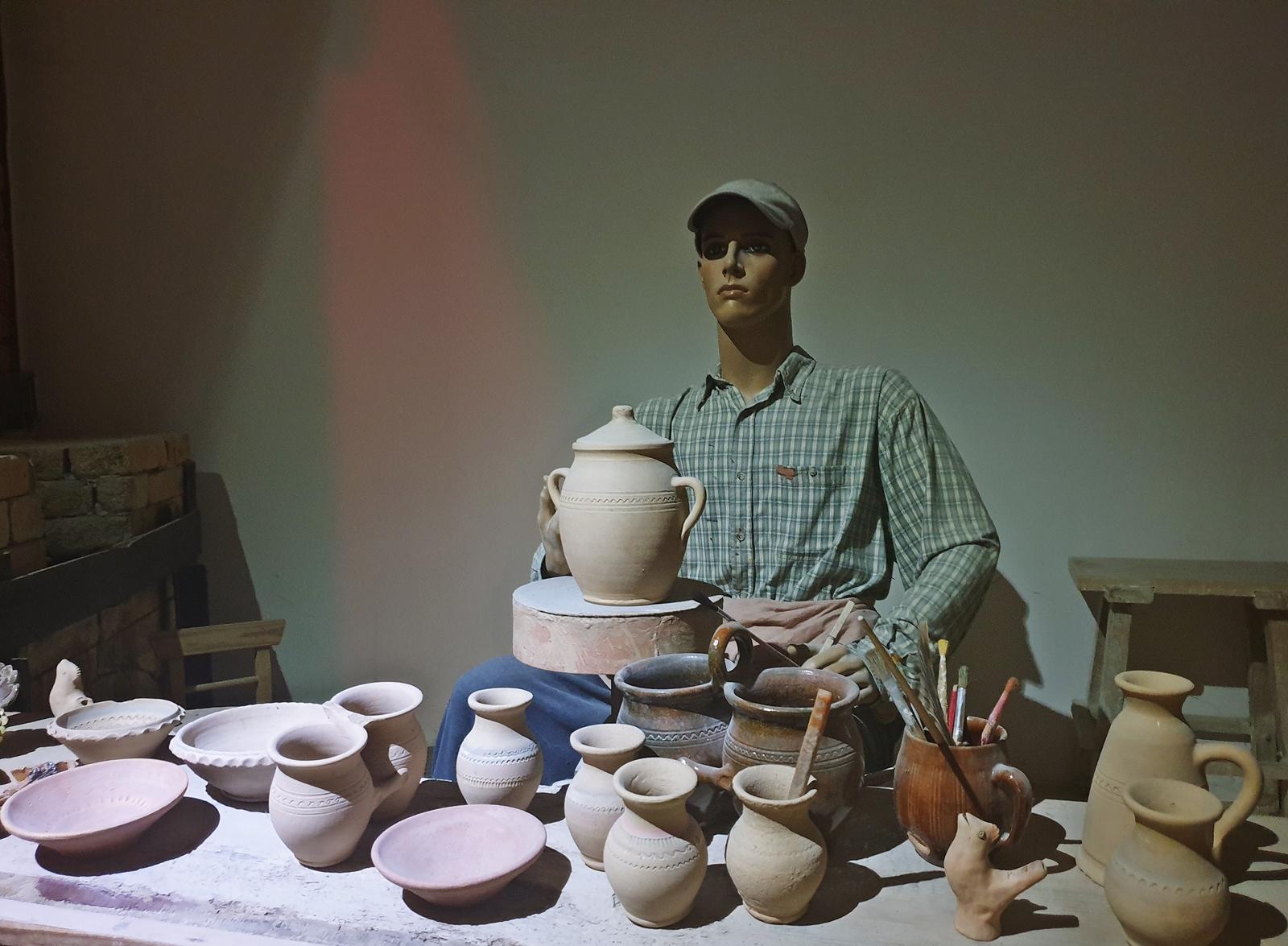 żywe muzeum porcelany