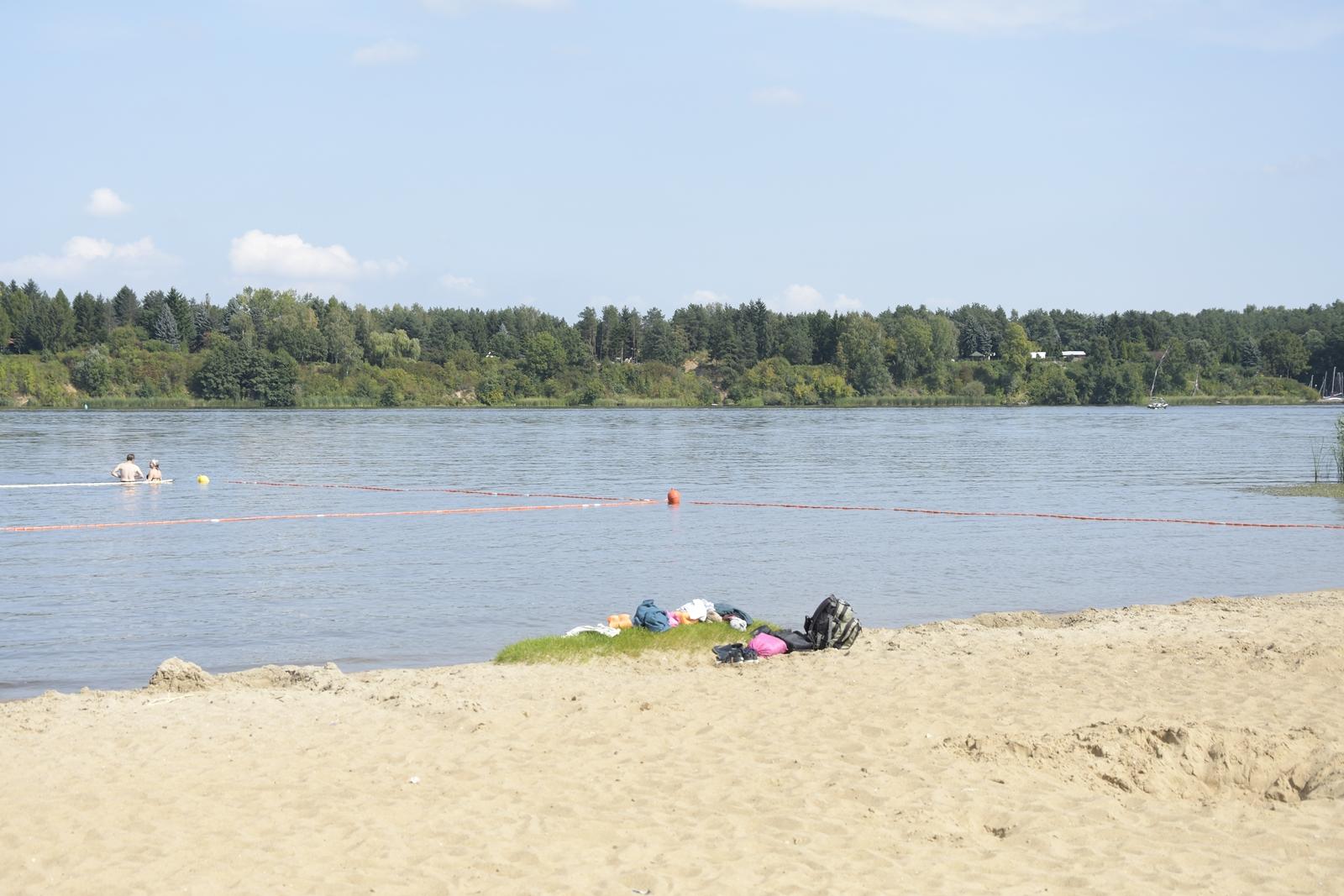 plaża w wieliszewie