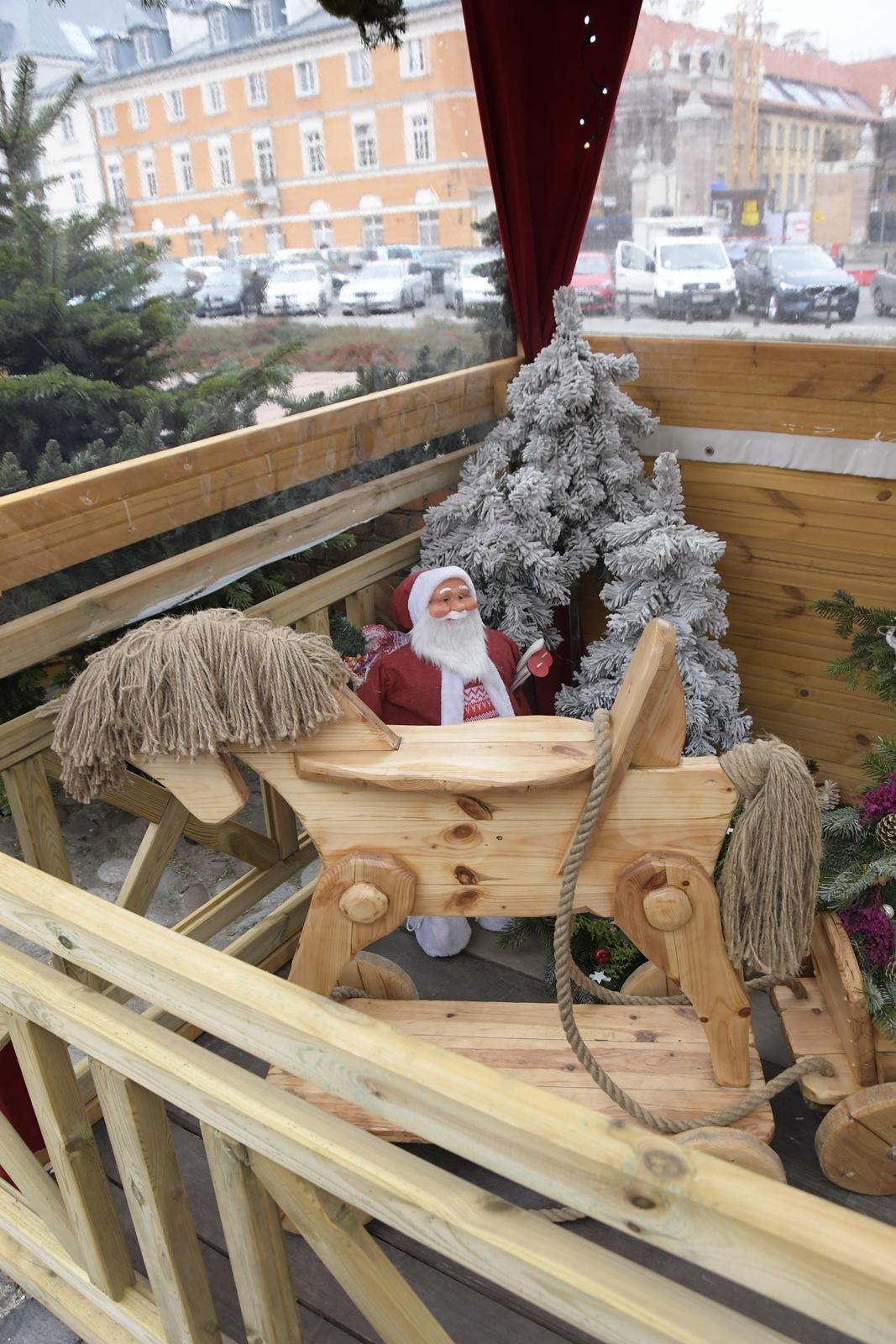 jarmark bożonarodzeniowy warszawa