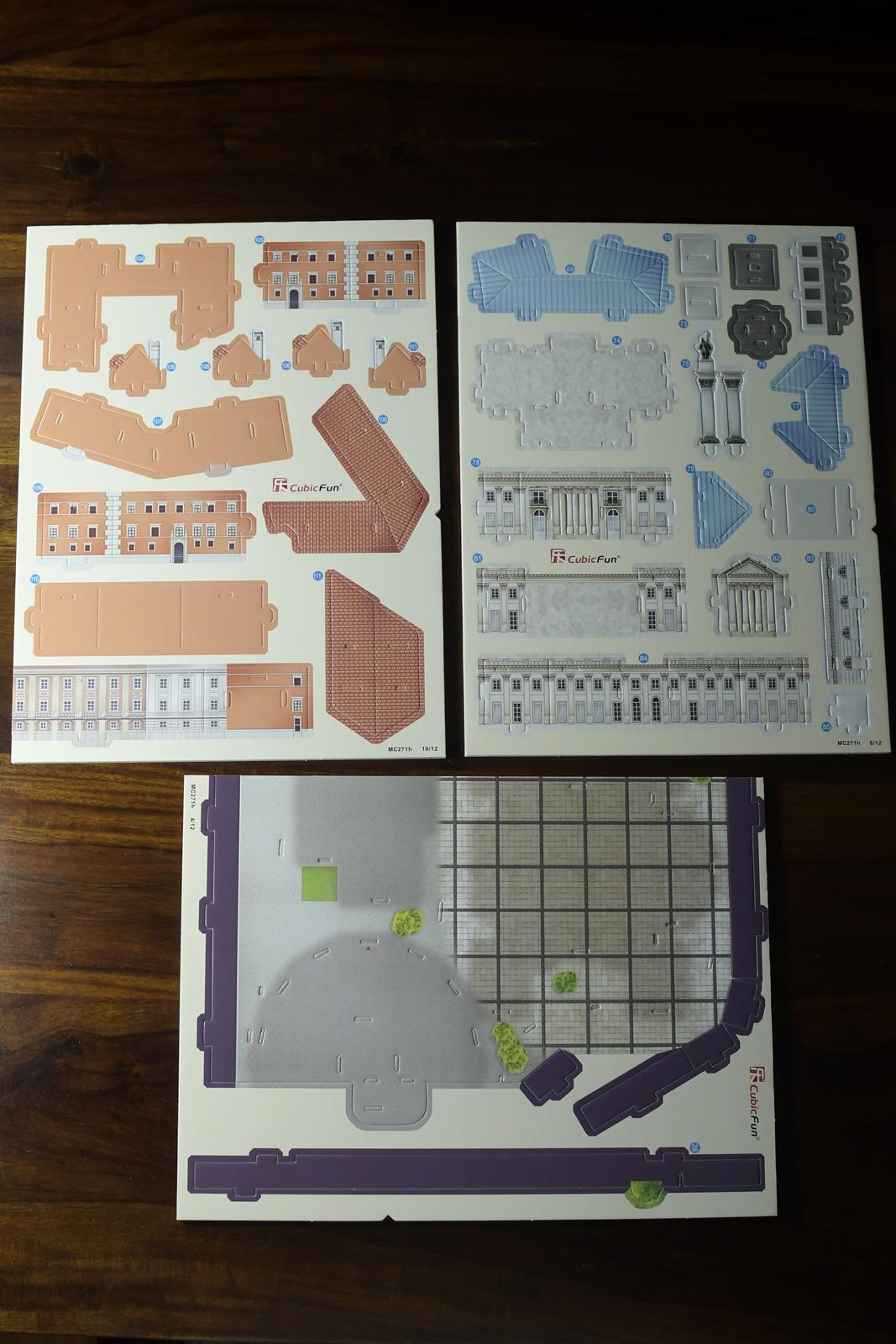 puzzle 3d warszawa