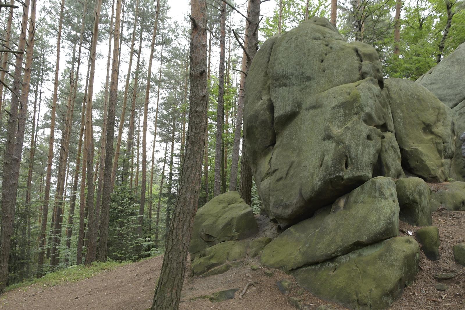 diabelski kamień w rudniku