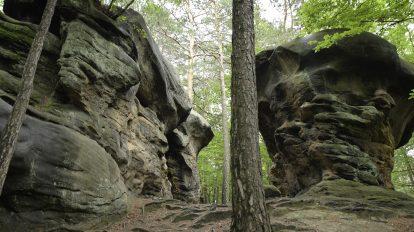 skałki niedaleko bochni