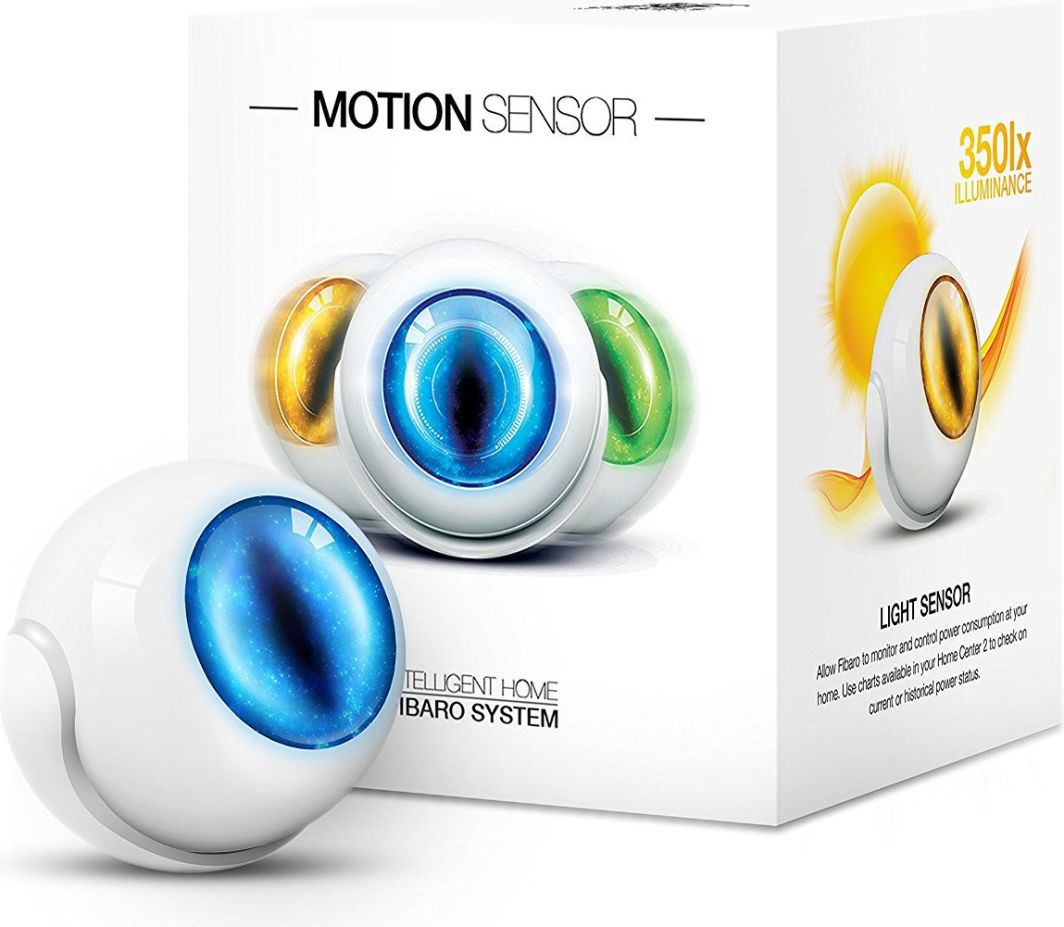 fibaro light sensor i fibaro button