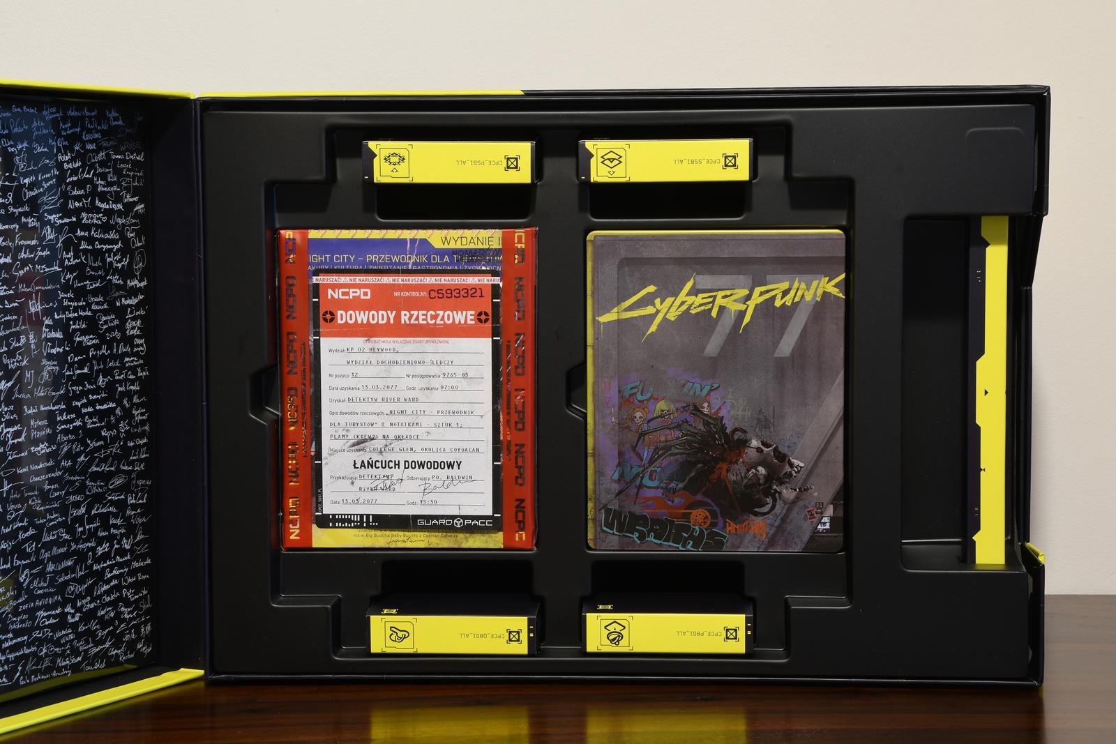 edycja kolekcjonerska cyberpunk 2077