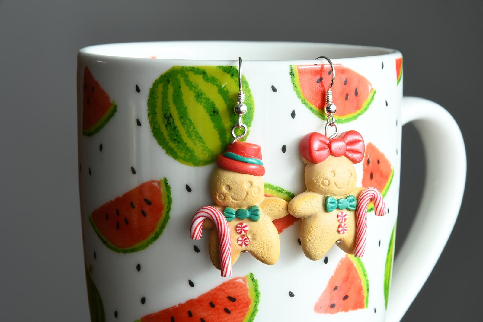 słodkie kolczyki