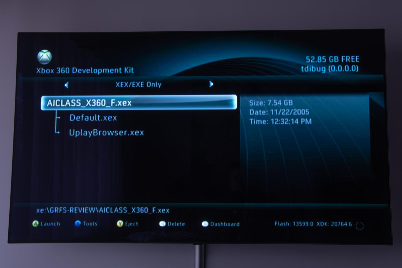 xbox 360 demo kit